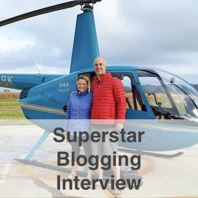Superstar Blogging Interview
