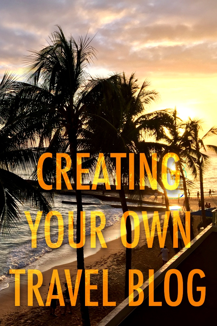 Creating your own travel blog