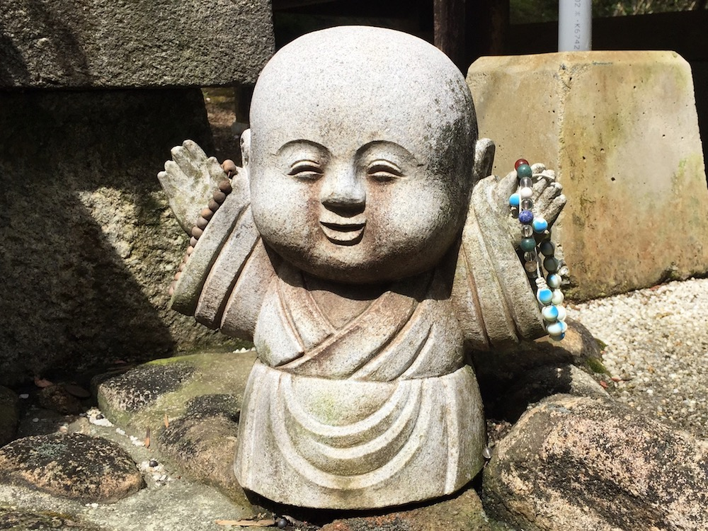 A kawaii monk Miyajima.