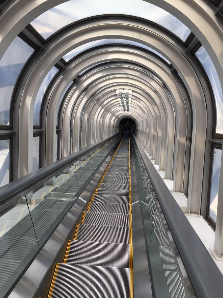 The world tallest elevator.