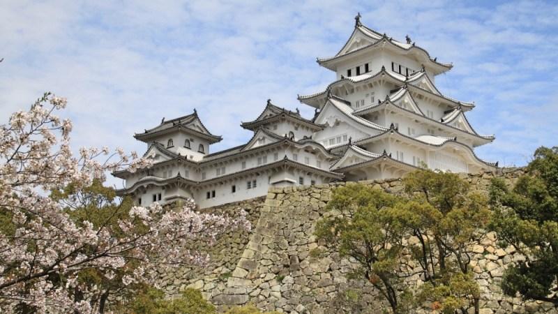 Himeji Castle in all its splendour.