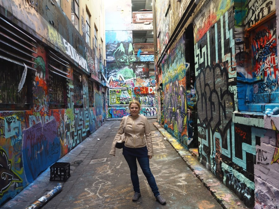Hosier Lane.