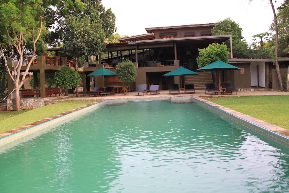 The pool at Kalu's Hideaway.