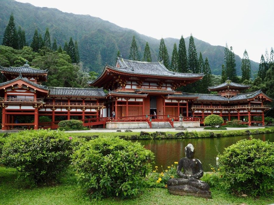 The Byodo-In Temple.