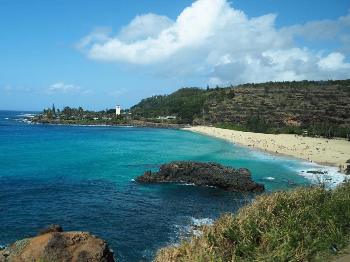 Waimea Bay on the North Shore.