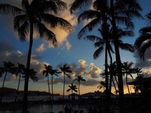Sunset at Turtle Bay.