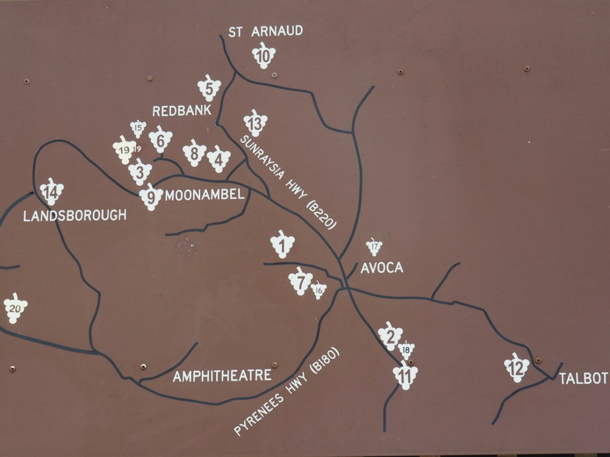 Wineries of the Pyrenees.