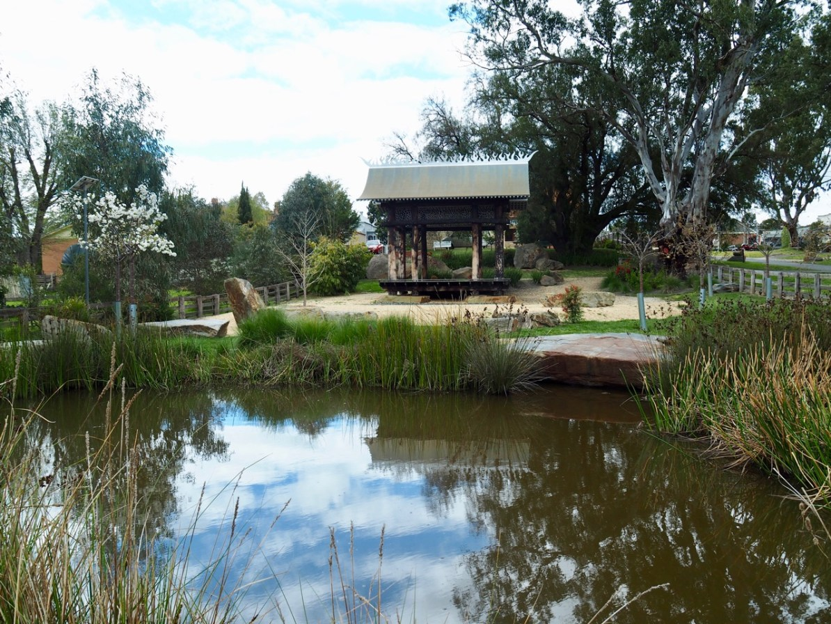 The Chinese Garden in Avoca.