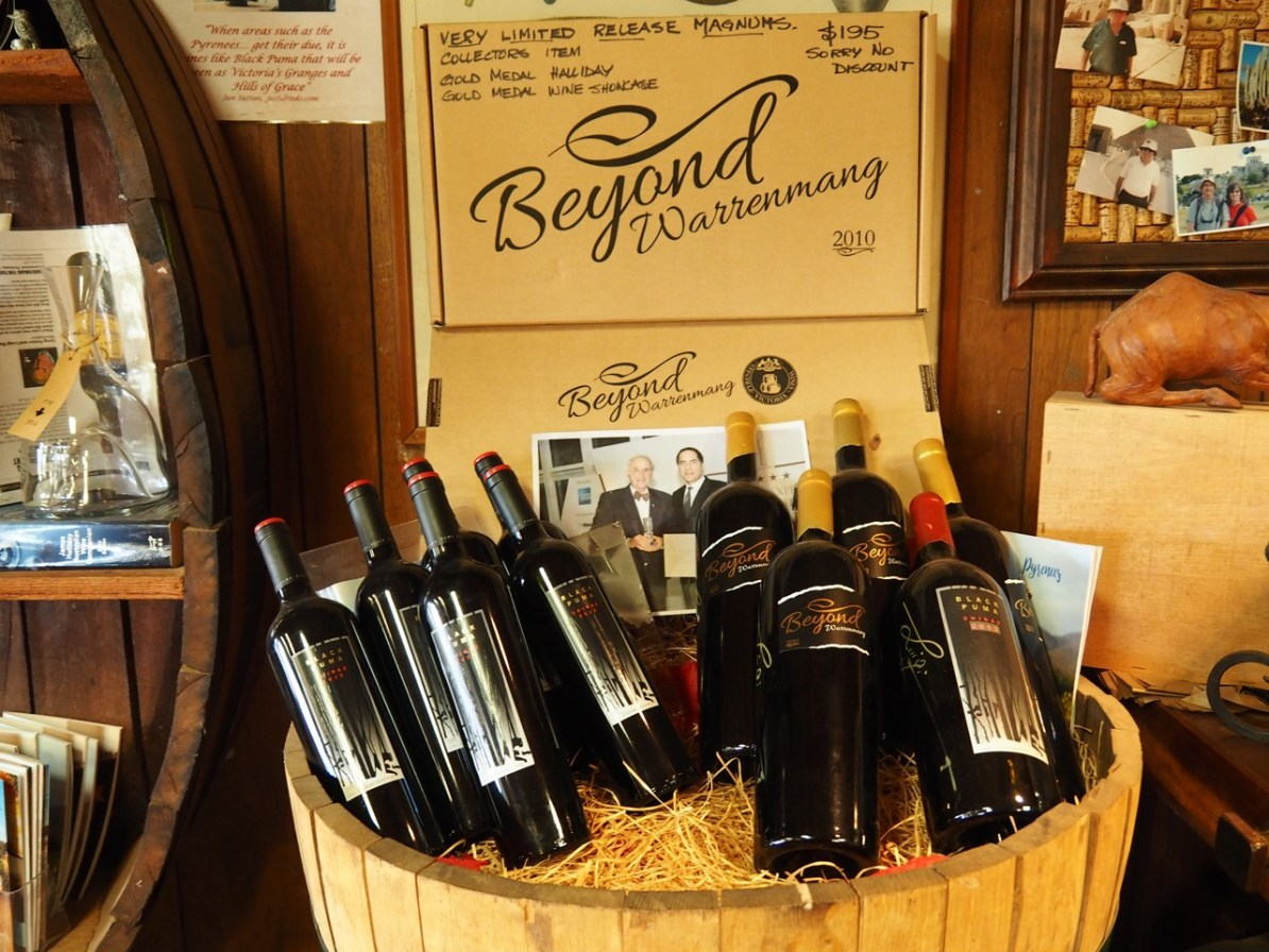 The Black Puma and Beyond wines.