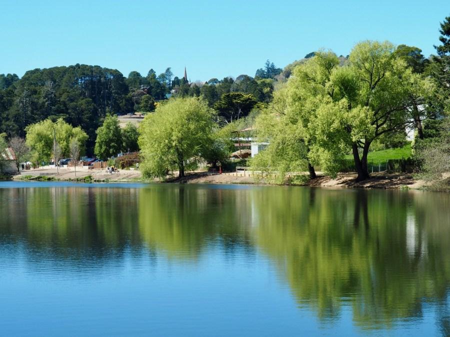 Lake Daylesford.