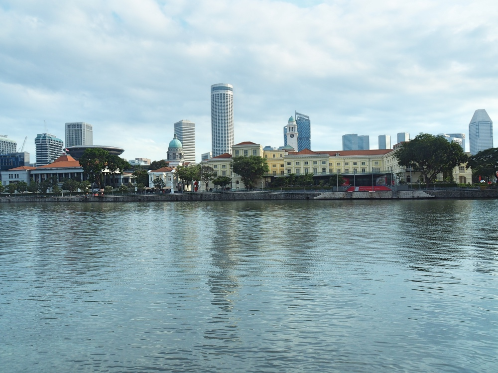 The Singapore River.
