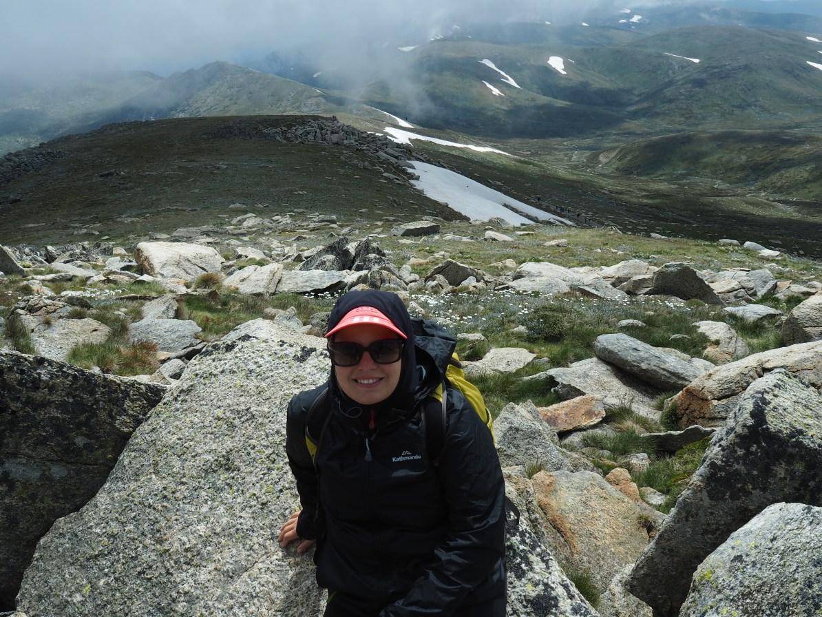 The summit of Kosciuszko.