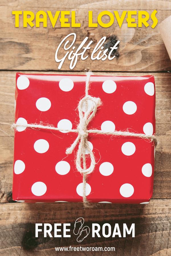 Travel Lovers Gift List