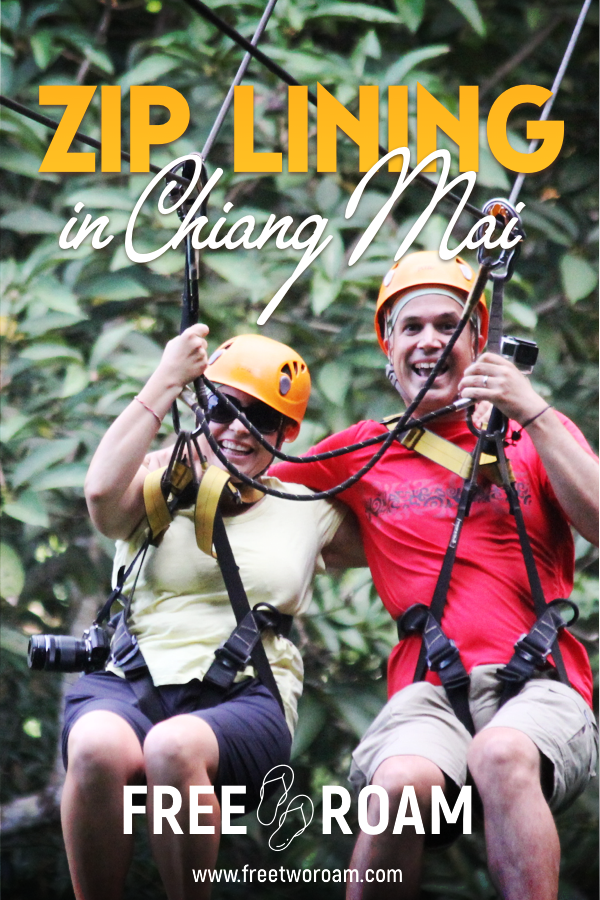 Zip-Lining in Chiang Mai - Our Flight of the Gibbon experience.
