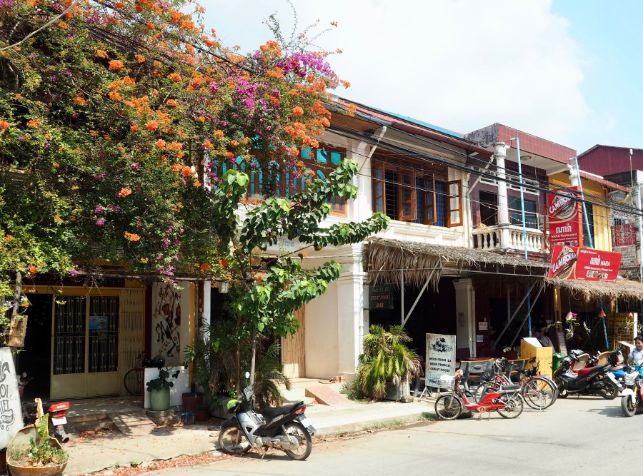 The old town of Kampot
