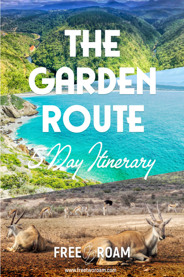 Our 5 Days Itinerary to the Garden Route, South Africa