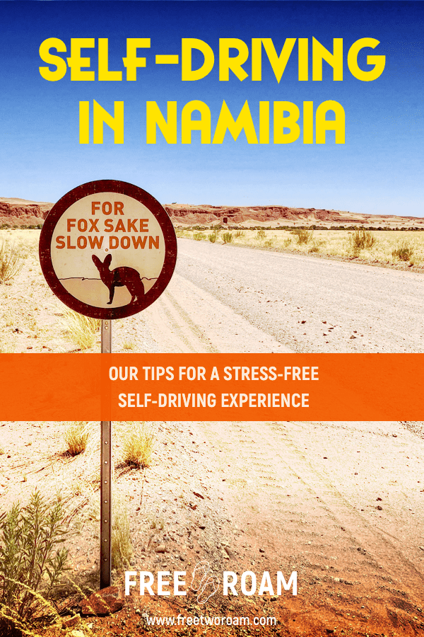 Our Tips for Stress-free Self-driving in Namibia