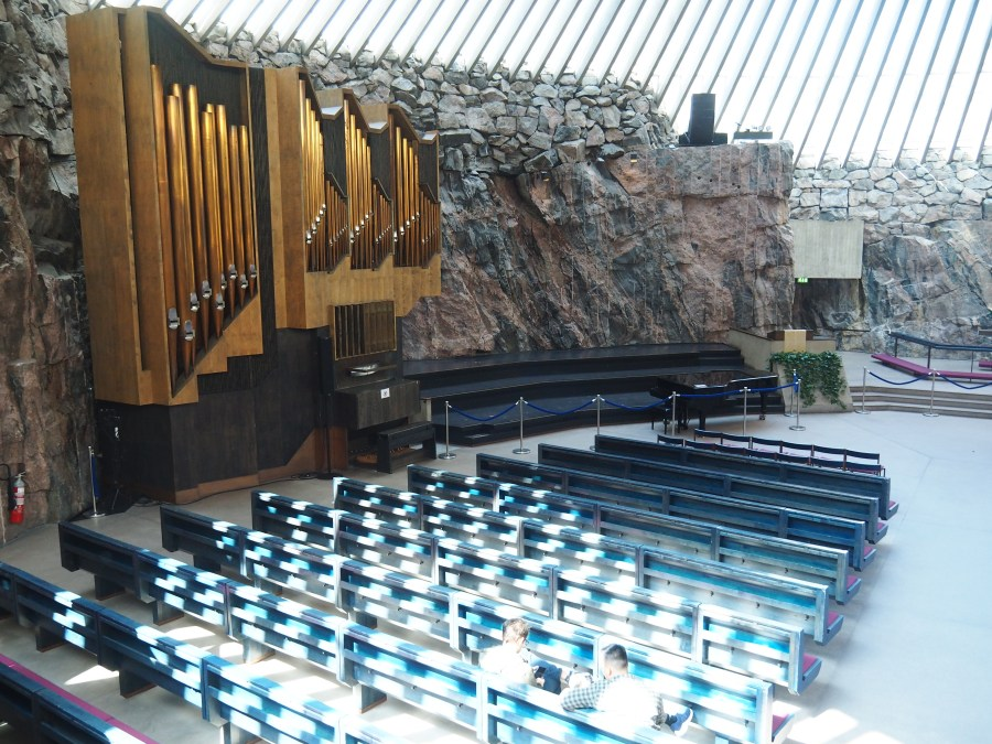 The Temppeliaukio Rock church