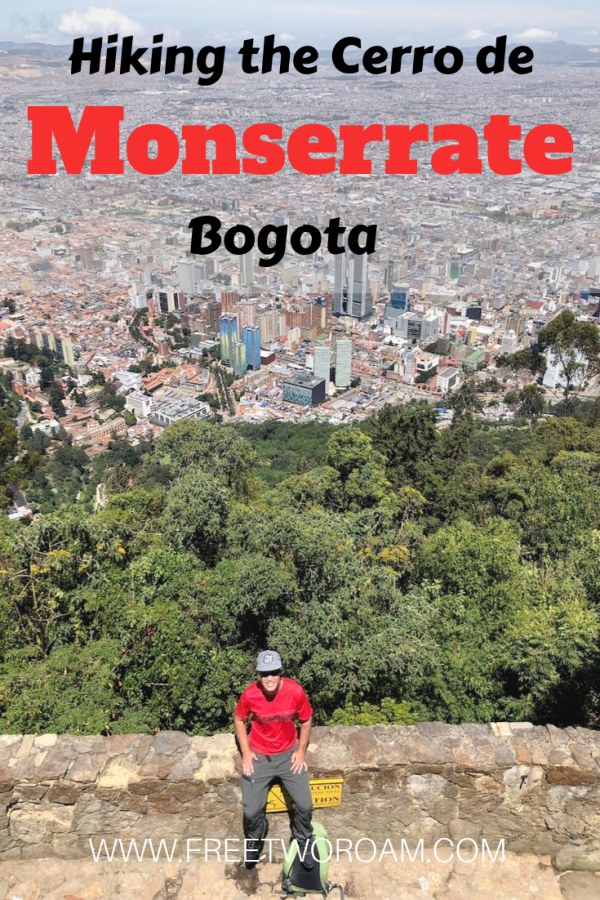 Hiking the Cerro de Monserrate, Bogota