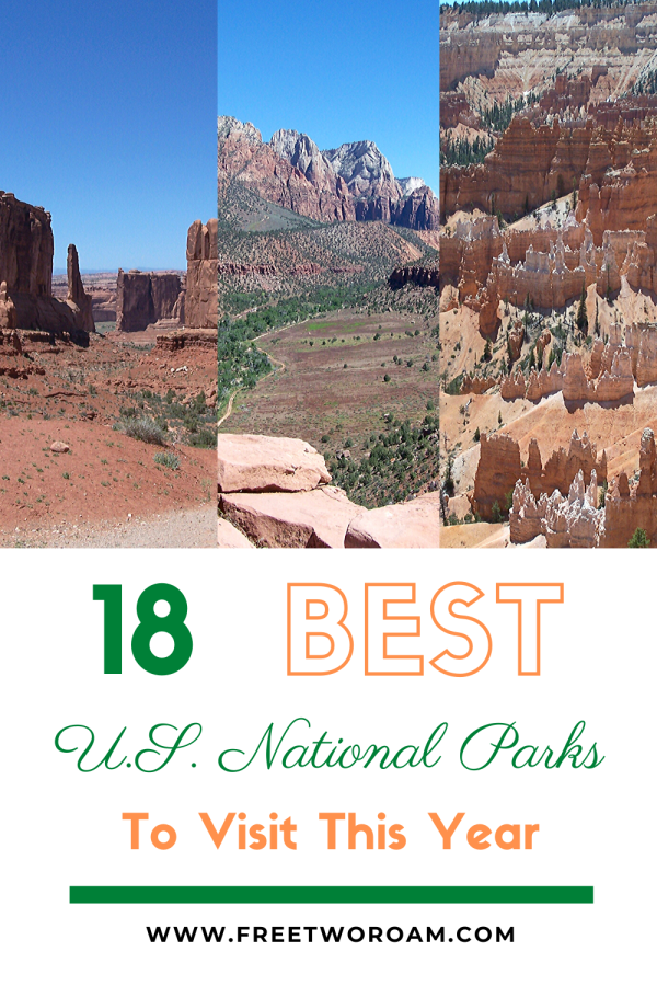 18 Best U.S. National Parks to Visit this Year
