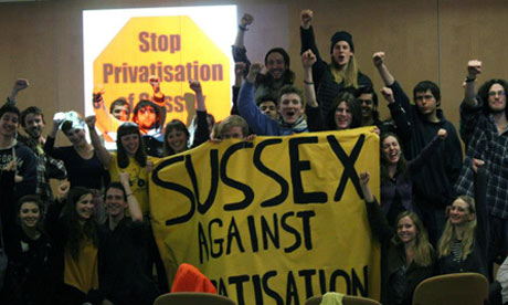 Sussex University occupation