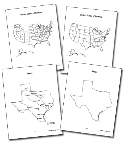 Geography The Americas and the 50 US States