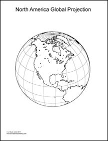 World Globes and Maps Coloring Book