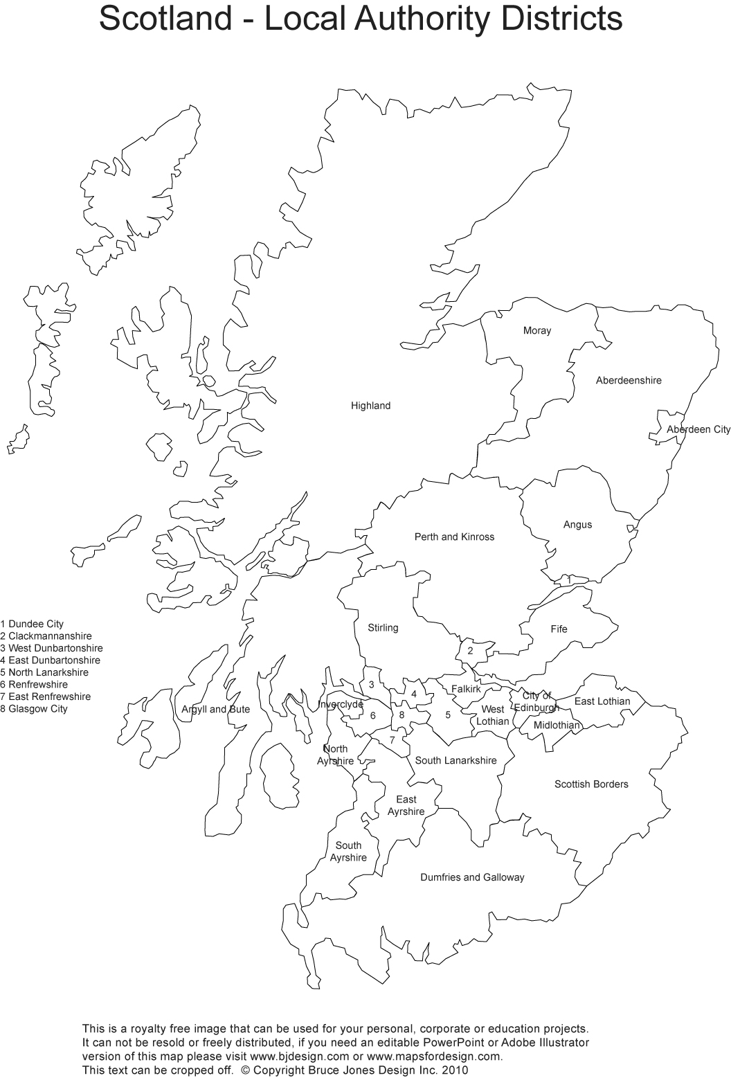 Printable Blank Uk United Kingdom Outline Maps Royalty Free