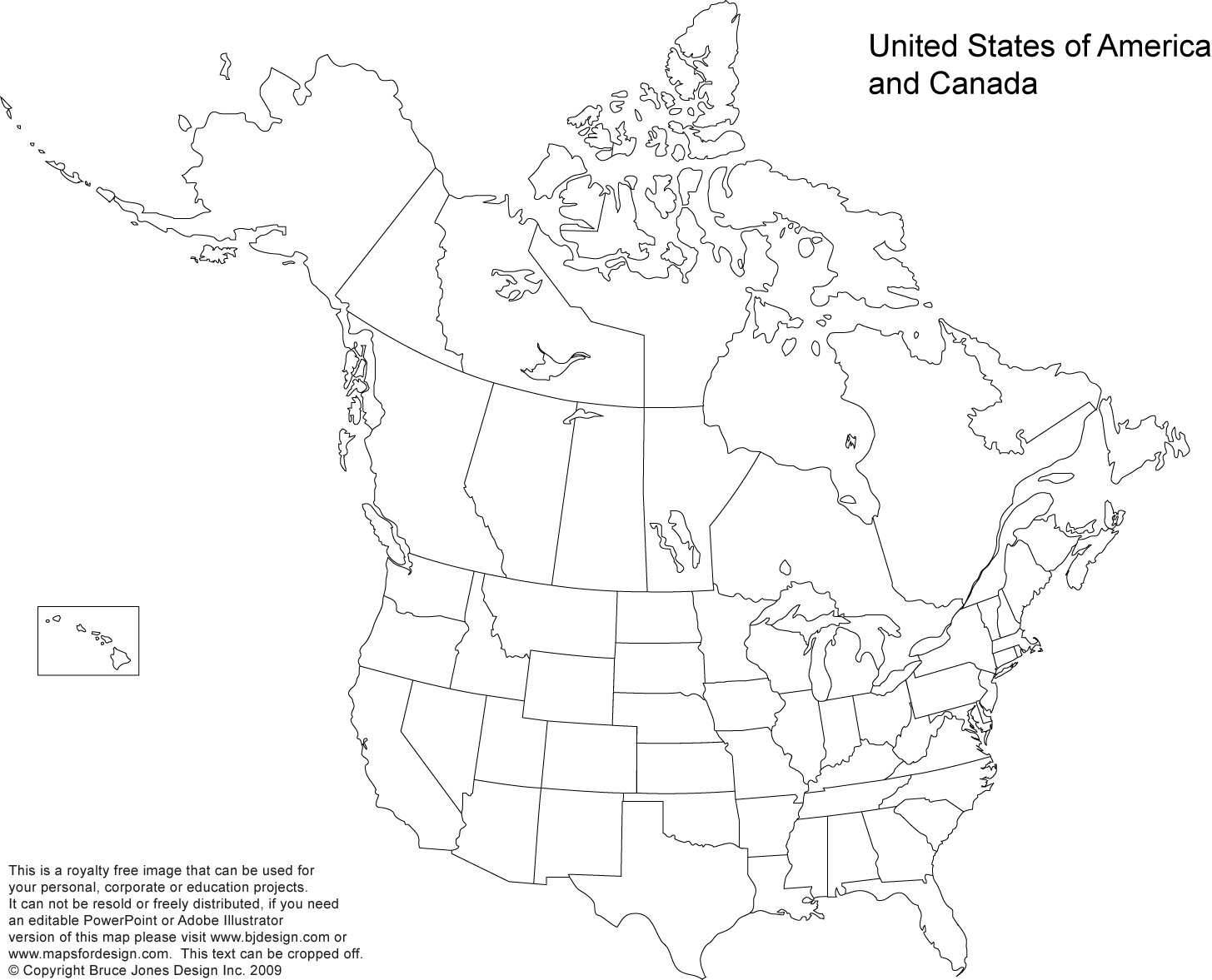 Us And Canada Printable Blank Maps Royalty Free Clip Art Download To Your Computer Jpg