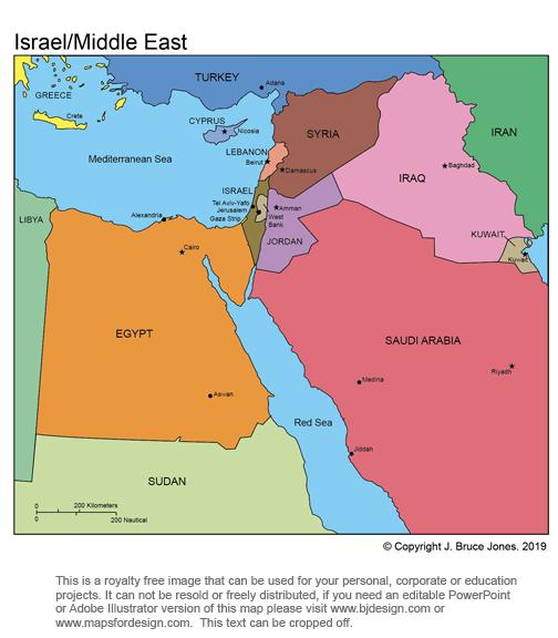 Good Maps Egypt And Surroundings