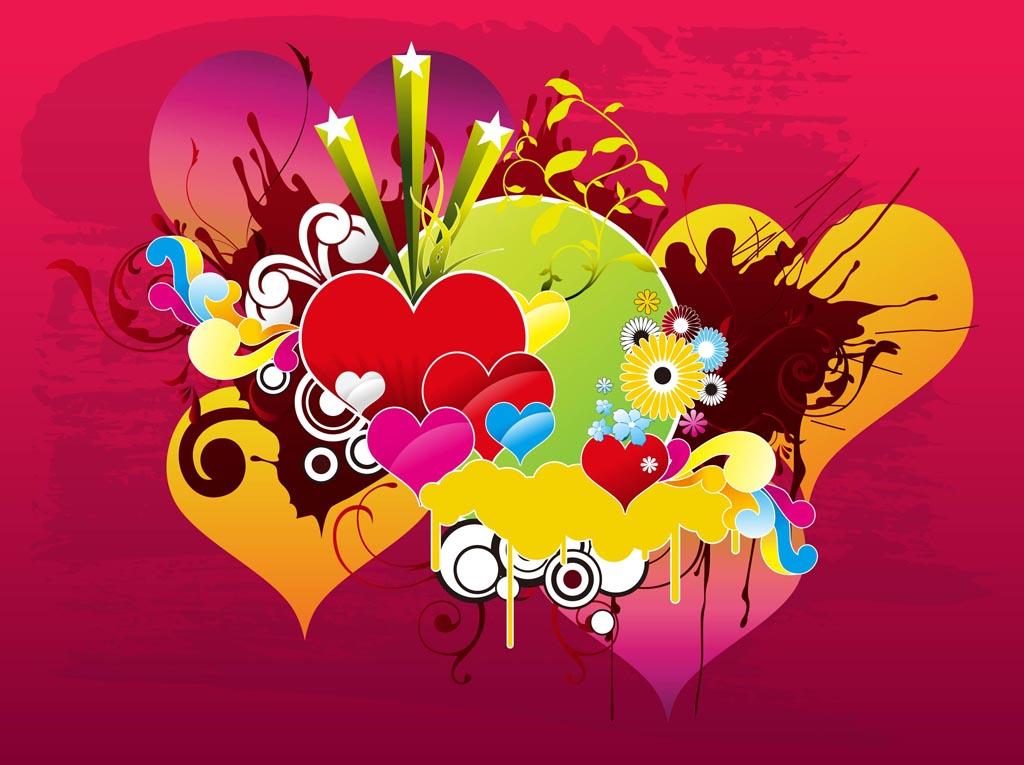Download Love Vector Background Vector Art & Graphics | freevector.com
