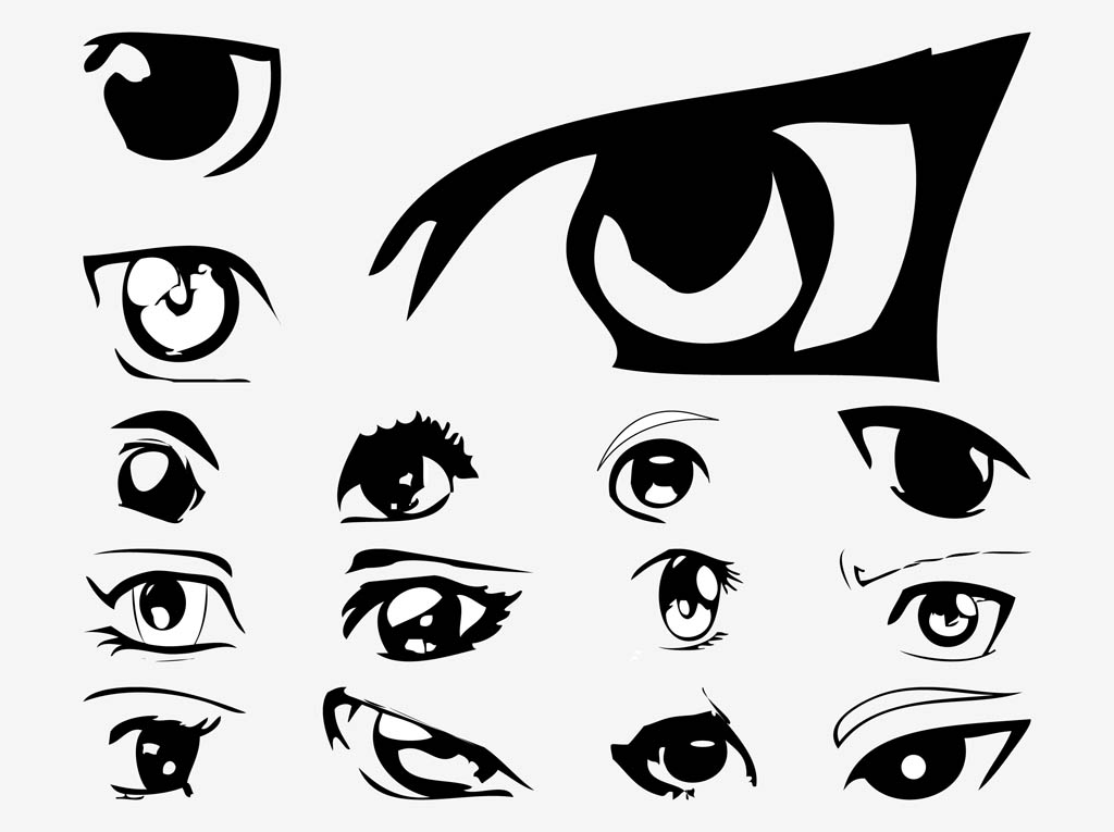 How To Draw Evil Anime Eyes Girls