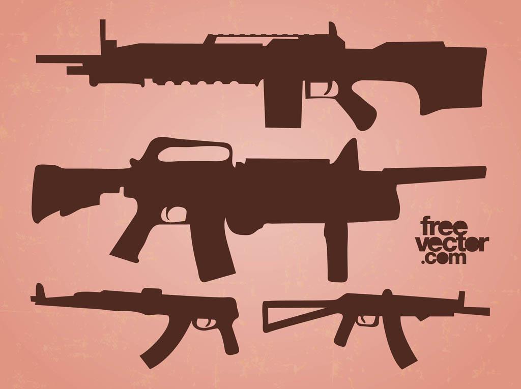 vector automatic guns vector