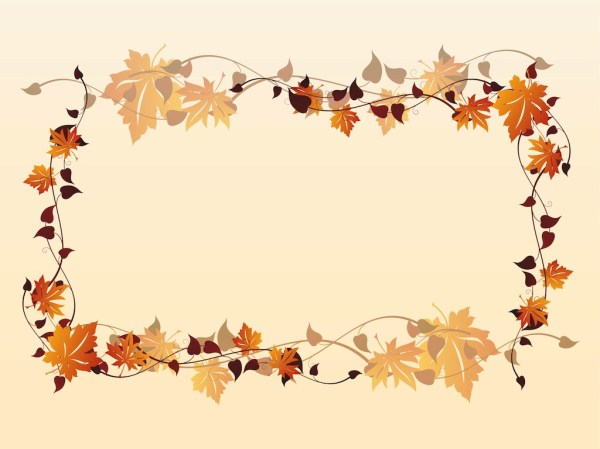 fall frame vector art & graphics