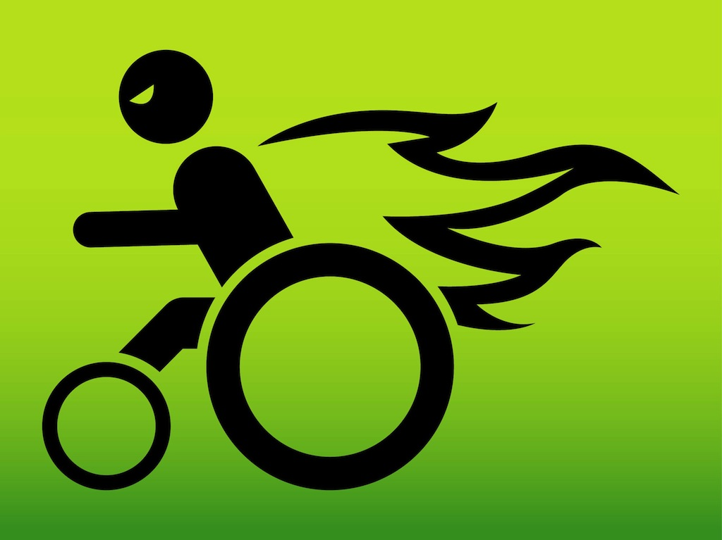 wheelchair hot wheels office tables and chairs in hyderabad man on fire vector art & graphics | freevector.com