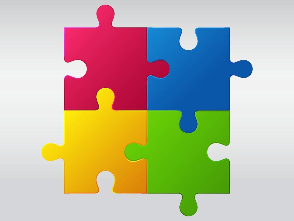 Jigsaw Puzzle Vector Art Amp Graphics