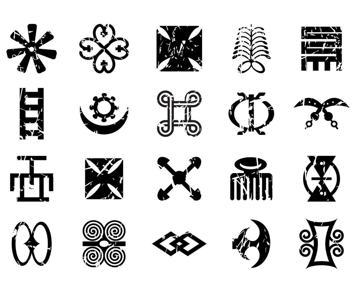 Free African Symbols Vector Vector Art Amp Graphics