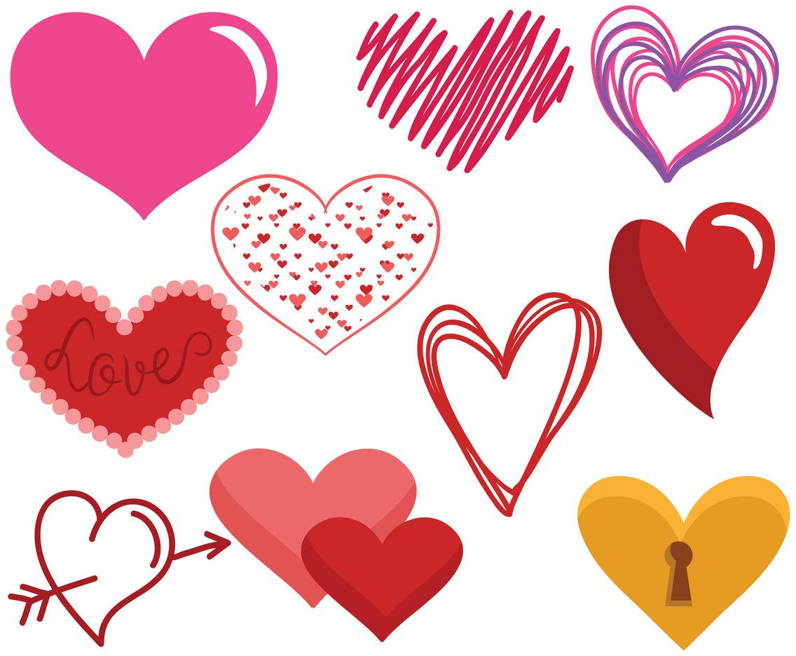 free hearts vectors vector