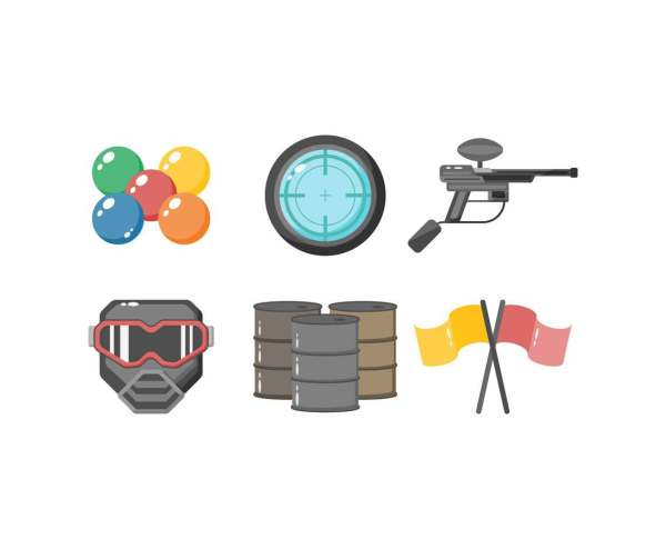 Free Paintball Vector Art & Graphics