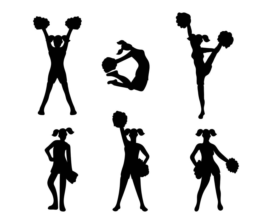 Cheerleader Vector Vector Art Amp Graphics