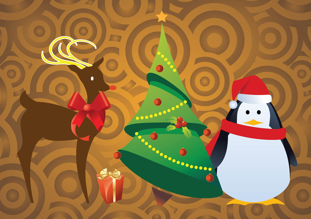 Free Christmas Character Vectors Vector Art Amp Graphics
