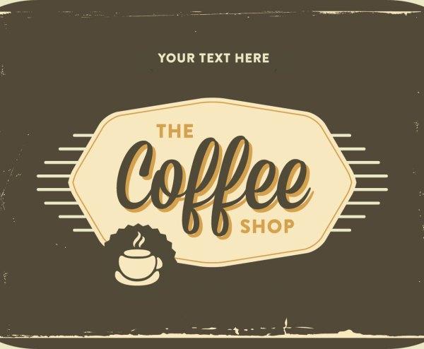 Retro Coffee Logo Vector Art & Graphics
