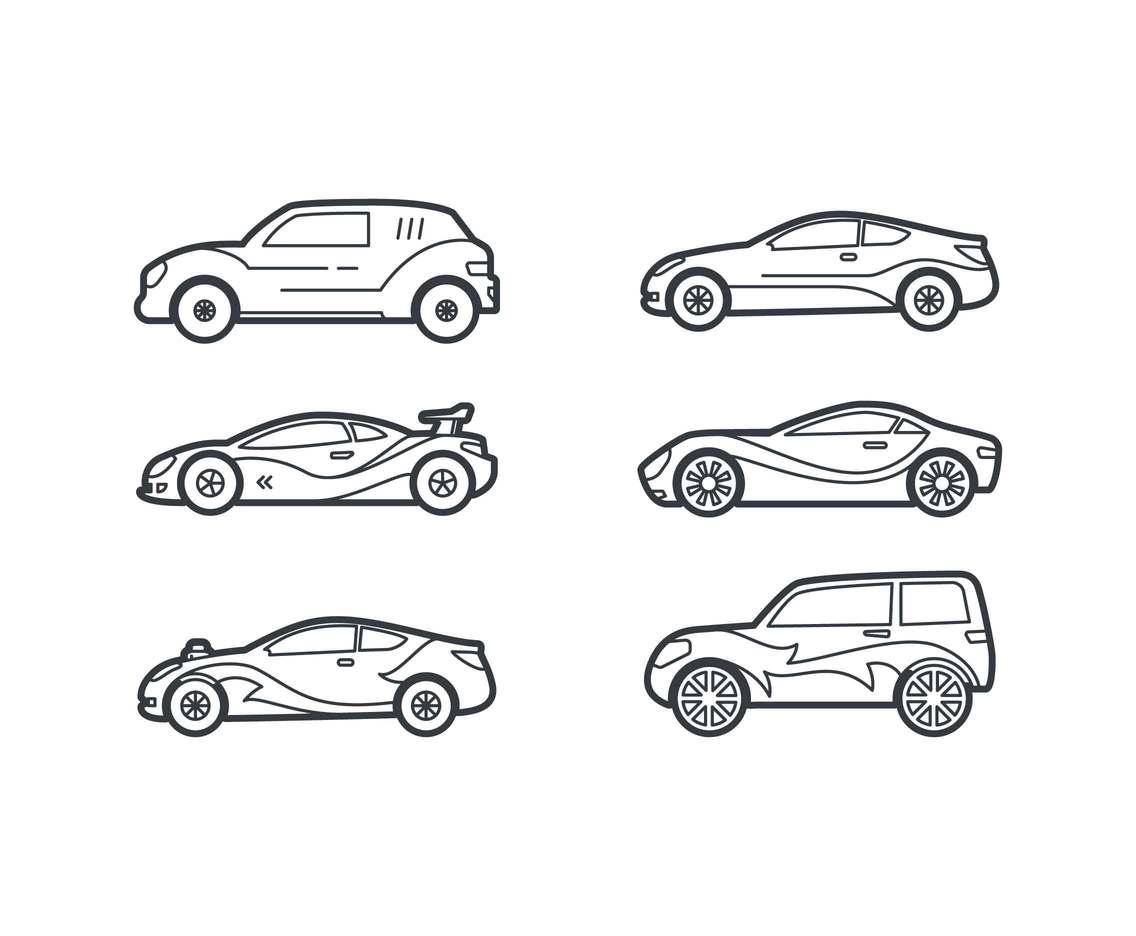 free renault car vectors