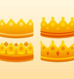 unique crown clipart set vectors [ 1136 x 936 Pixel ]