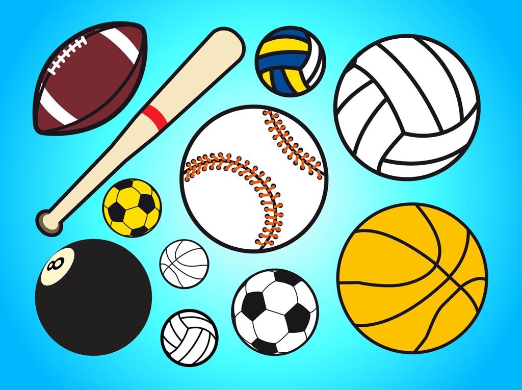 Sport Balls Vector Art & Graphics | freevector.com