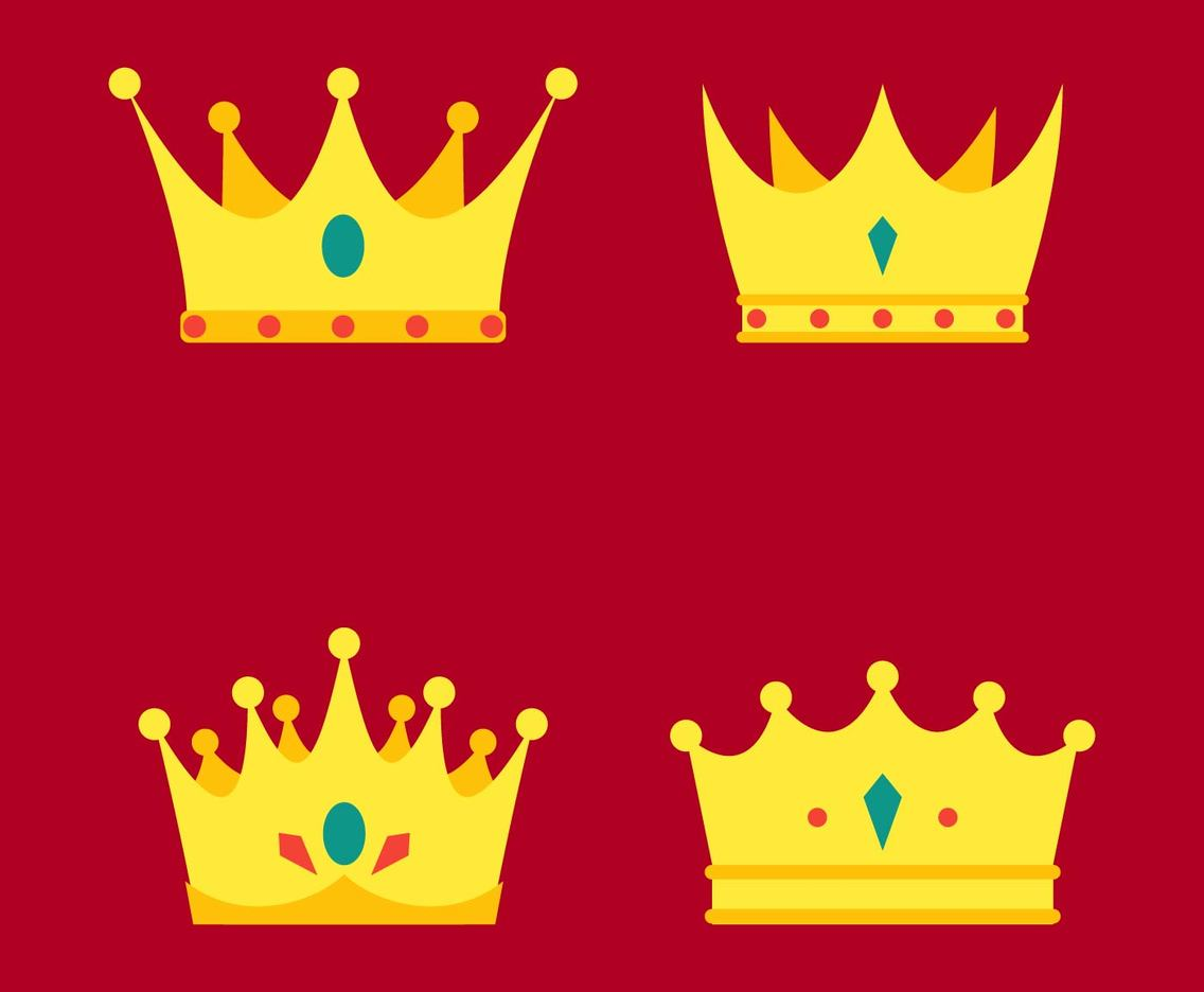 hight resolution of crown clipart