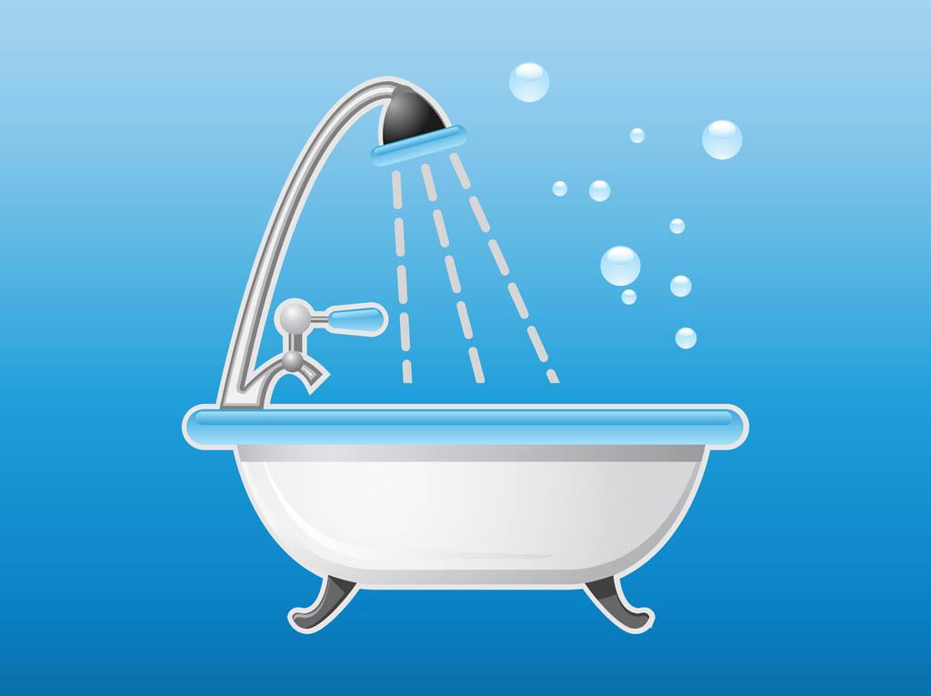 Bathtub Icon Vector Art Amp Graphics