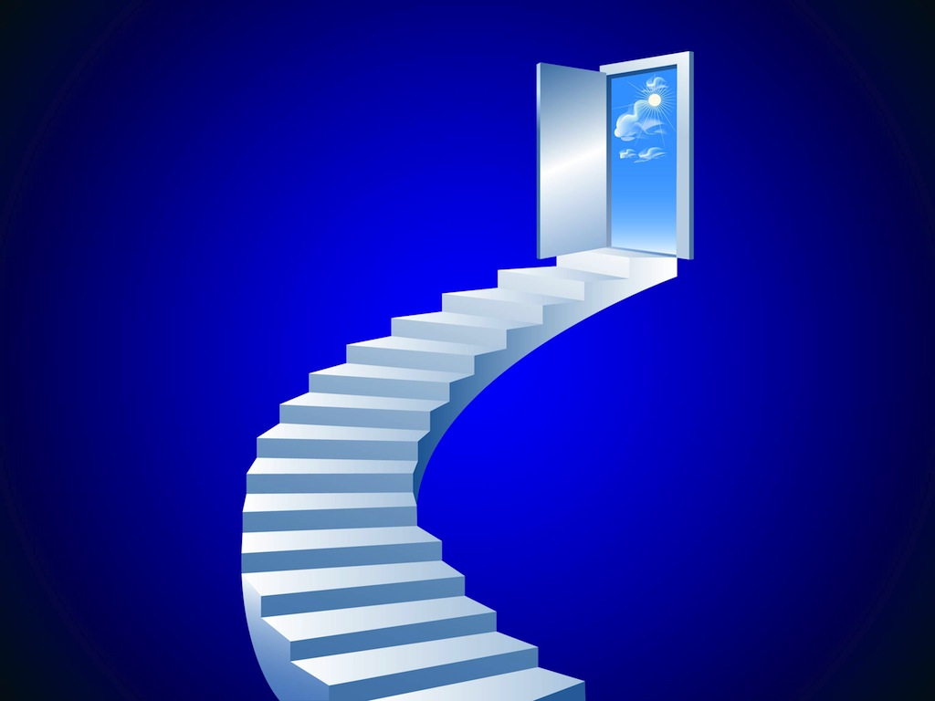 Stairway To Heaven Vector Vector Art Graphics