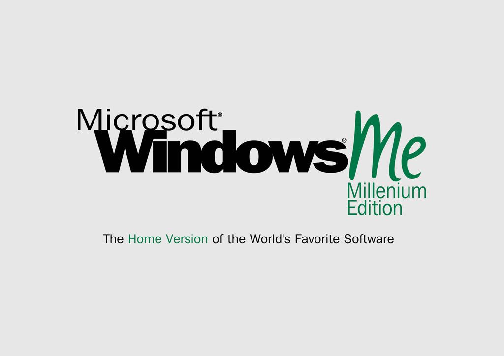 Microsoft Windows Millenium Edition Vector Art & Graphics