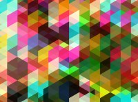 Colorful Shapes Background Vector Art & Graphics ...